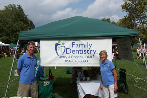 Dr Popeck at the Pennsville SeptemberFest 2012