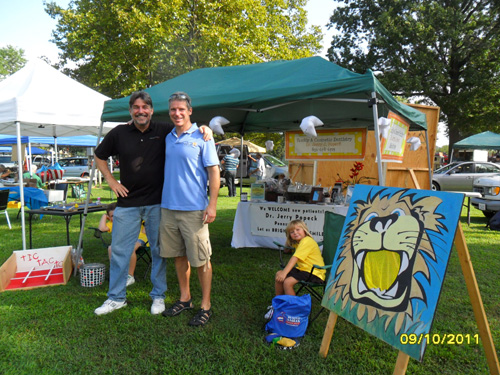 Welcome to Pennsville SeptemberFest 2011 with cosmetic dentist Dr. Popeck and his staff