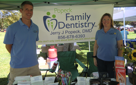 Dr Popeck at the Pennsville SeptemberFest 2013